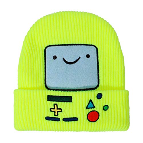 BST&BAO Gorro de Punto para niños, Gorro de Invierno con Robot de Dibujos Animados, Gorro Unisex Muy elástico a Prueba de Viento cálido para Exteriores