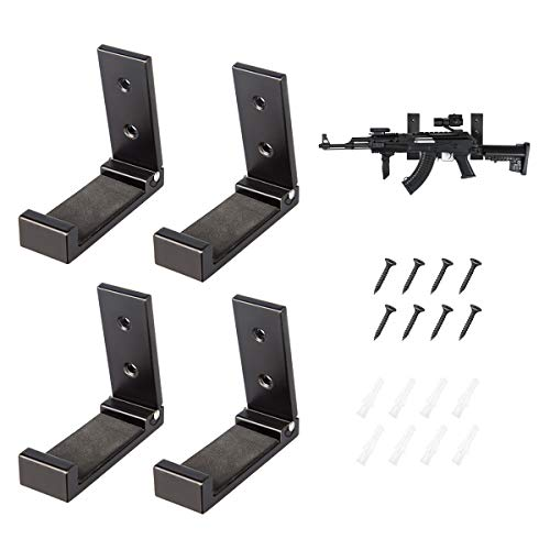 ZUKIBO Gun Rack Wall Mount Rifle Display Storage...