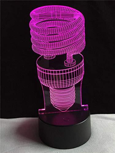 HGFHGD 3D LED USB iluminación Decorativa en Forma de Cable Ambiente de...