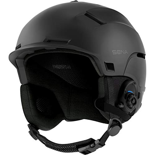 Sena Latitude S1, Snow Helmet with Built in Speakers and Microphone, Four-Way Bluetooth Intercom, Hands-Free Open Communication, Listen to Music (Size L)
