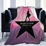 Kaopey Ultra Soft Flannel Fleece Blanket Hamilton an American Musical Fashion Stylish Bedroom Living Room Sofa Warm Throw Blanket 50'X40'