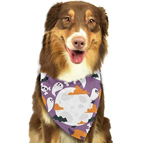 Sitear Halloween Carnaval Naadloos Patroon Hond Bandana Driehoek Bibs Sjaal Huisdier Kerndoek Set Voor Kleine Tot Grote Hond Katten