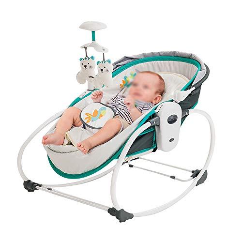 Baby-Schaukelstuhl, europäischer Komfort-Sessel Baby Schlafkorb, Kinder-Musik-Liegestühle