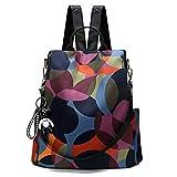 Freie Liebe Women Anti-Theft Backpack Purse Waterproof Oxford Ladies Rucksack Lightweight Shoulder Bags