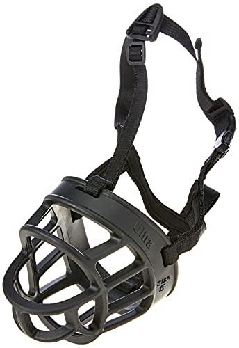 Baskerville Ultra Black Muzzle for Pugs