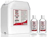 RMOVE gel igienizzante mani 5 litri +2 flaconi da 200ml in OMAGGIO 70% ALCOL gel mani profumato al limone arricchito con olii essenziali di Aloe e Timo tanica 5 litri #7