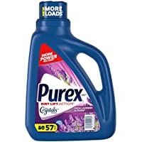 Purex 75 oz Liquid Laundry Detergent with Crystals Fragrance