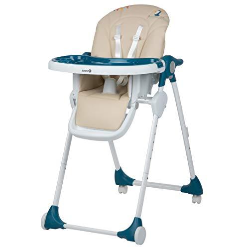 Safety 1st Baby Hochstuhl Looky, 6-fach höhenverstellbar und 3 verschiedene Liegepositionen,Tisch mit abnehmbarem Tablett, nutzbar ab ca. 6 Monate bis max. 15 kg, happy day