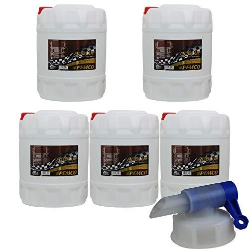 100L PEMCO AdBlue Kraftstoffadditiv Harnstofflösung PM3001 inkl. Auslaufhahn