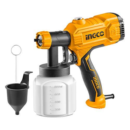 INGCO SPG3508-3 Lacksprühgerät, 450 W, 800 ml, 50 DIN-s