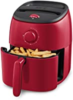 Dash DCAF200GBWH02 Tasti-Crisp Electric Air Fryer + Oven Cooker with Temperature Control, Non Stick Fry Basket, Recipe...