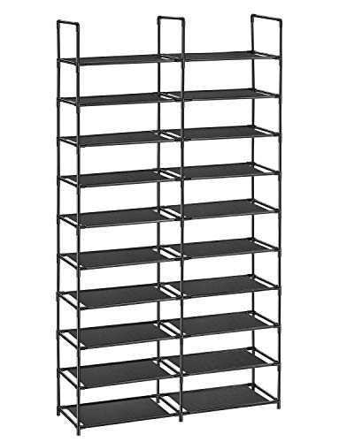 ORAF Shoe Rack 10 Tier Shoe Tower Organizer, 50 Pairs Shoe Racks with Waterproof Dustproof Tight...