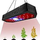 YRATLASKO Planta De 1000W LED Crece La Luz, Planta Full Spectrum Crece La Lámpara Led con Cadenita Triple-Chips para Las Plantas De Interior Veg y Flor De Jardinería (100pcs Led)