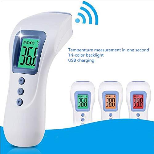 LJH Stirn- Und Ohr-Thermometer, Stirn-Thermometer, Infrarotstirnthermometer Infrarot-Thermometer Smart-FXX