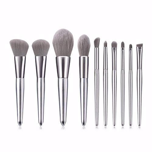 GONGFF Pinceaux de Maquillage Big Brush Powder Foundation Angle de Fard à paupières Angle Blush Cosmetic Tools Kit