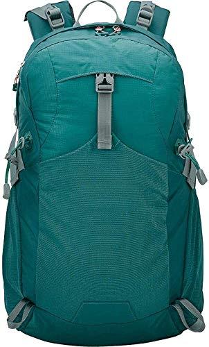 tgbnh Backpack,Hiking Backpack Hiking Daypack Backpack Unisex Camping Mountaineering Walking 40-Litre Multi-Function Hiking Backpack (Color : Dark green)