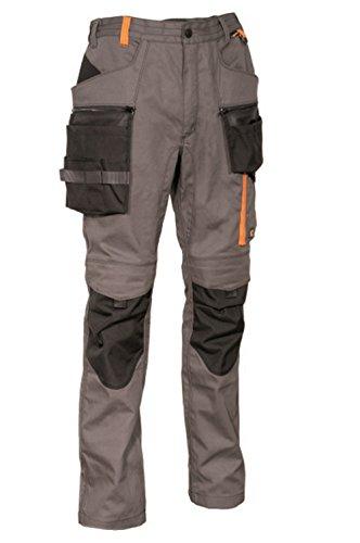 COFRA Arbeitshose Slim Work Reihe BIWER in Mehreren Farben (52, anthrazit-schwarz-orange)