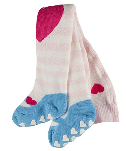 FALKE Babys Strumpfhosen Crawler Girl, 83% Baumwolle, 1 Stück, Rosa (Powder Rose 8902), Größe: 62-68
