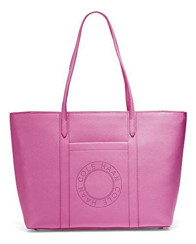 Cole Haan Leather Zip TOP Tote, Pink