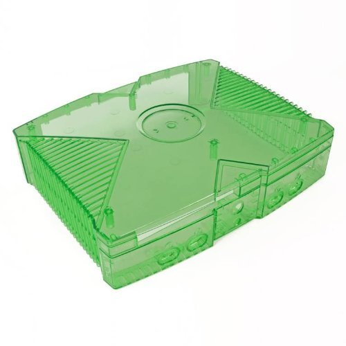 Amazon com: Xbox Original GhostCase Kit - Clear Green: Video