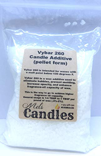 Mels Candles & More Vybar 260 5 Ounce Bag of Candle Wax Additive
