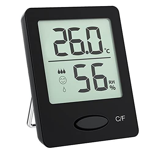 Hygromètre Thermomètres dintérieur, Moniteur dHumidité & deT