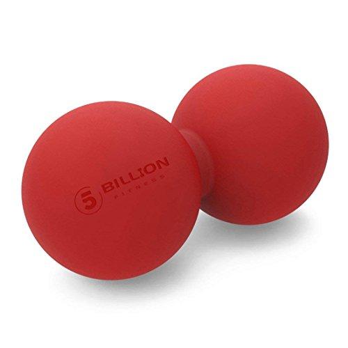 5BILLION Therapie Massage Ball - Doppel Massage Peanut Ball & Mobility Ball für Körperliche...
