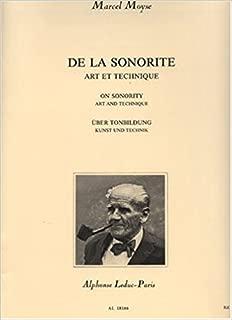 De La Sonorite, Art Et Technique for flute