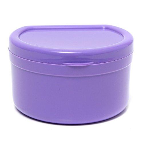 Ungfu Mall - Caja de plástico para guardar dentaduras funda ortodoncia.