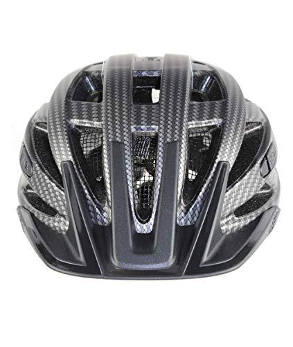 Uvex Erwachsene I-VO CC Fahrradhelm, Black Carbon Look Mat, 52-57 cm - 2