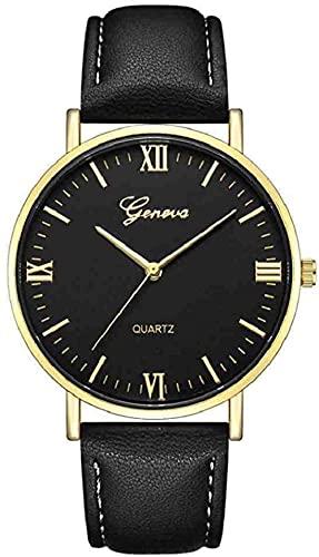 JZDH Mano Reloj Reloj Reloj Reloj Hombre clásico de Lujo de Lujo de Acero Inoxidable analógico analógico analógico para Hombre Deportes Reloj de Pulsera Relojes Decorativos Casuales (Color : C)