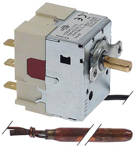 Thermostat von IMIT 38-87 °C 2CO 3 -polig Fühler Ø: 6,5 mm L: 112 mm 16 A Temperaturregler
