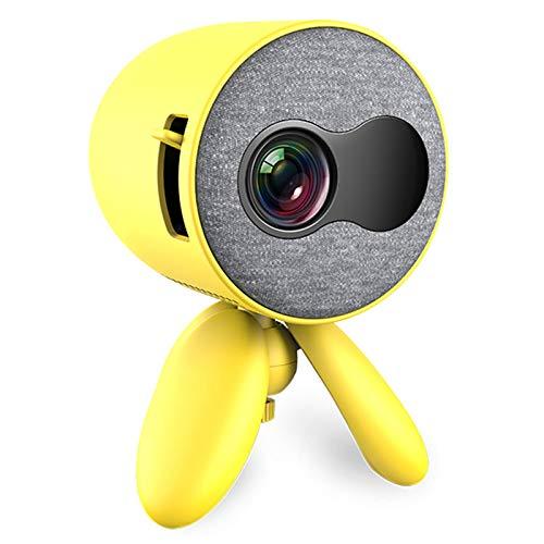 Proyector, Videoproyector Portátil Full HD 1080P Proyector De Video LED Pantalla De Cine En Casa De 80'