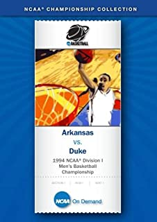 1994 NCAA: Division I Men's Basketball Championship - Arkansas vs. Duke