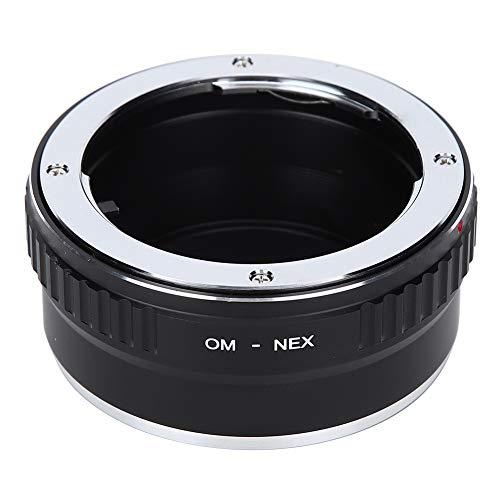 Entatial Anello Adattatore Om ‑ NEX per Obiettivo con Attacco Om per Olympus per Fotocamera mirrorless per Sony E Mount