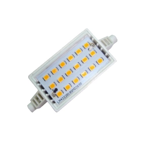 Bombilla LED Slim R7s 78mm 7W Luz blanca 5000K Ref. 216-4-423