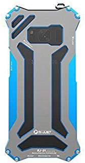 Galaxy S8 Case,R-JUST Premium Shockproof Dropproof Aluminum Metal Protection Mechanical Armor Cover Case for Samsung Galax...