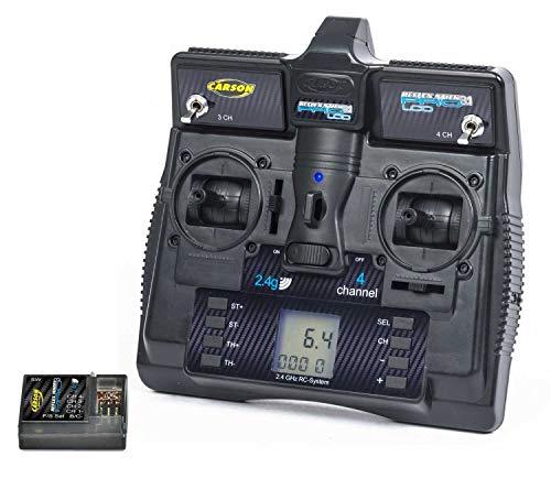 Carson 500500085 - FS Reflex Stick Pro 3.1 2.4G LCD 4 Kanal, Modellbau, Zubehör, Fernsteuerung, Empfänger