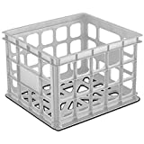 Image: Sterilite Corp. 16928006 Storage Crate - Great for filing, toys, etc