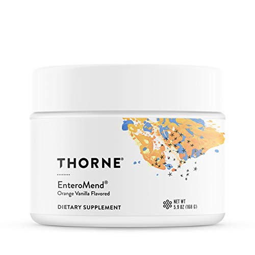 Thorne Research - EnteroMend (Orange Vanilla Flavor) - Botanical and Amino Acid Formula to Support Intestinal Health - 5.9 oz