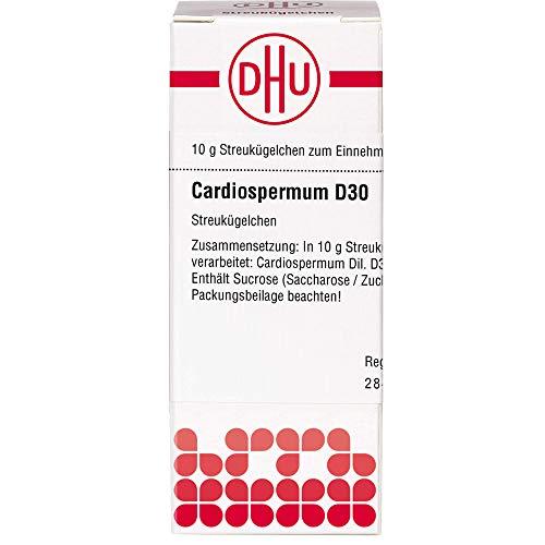 DHU Cardiospermum D30 Streukügelchen, 10 g Globuli