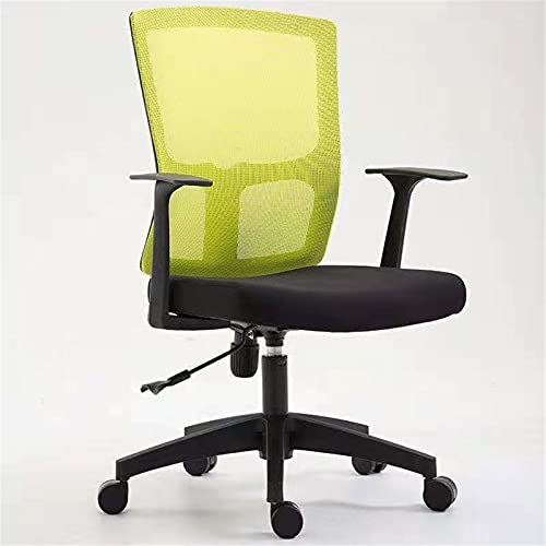XinLuMing Desk Chair Executive Computer Office Chair Ergonomic Adjustable and Rotating Fabric Mesh Chair with Comfortable Lumbar Support (Color : D)