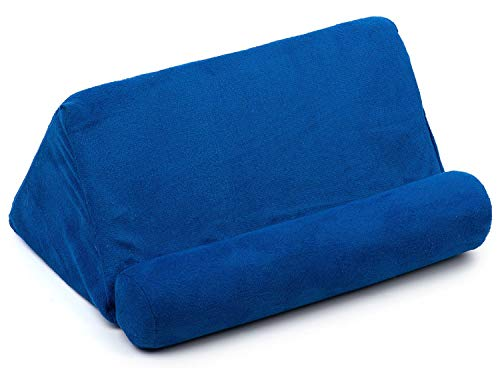 Cellorizing Soft Pillow Lap Stand for iPads, Tablets, eReaders, Smartphones, Books, Magazines (Blue)