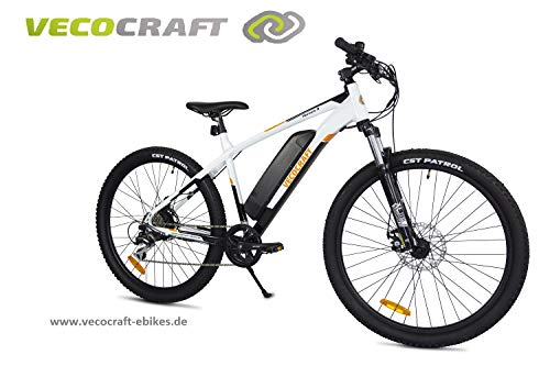 VecoCraft Hermes 8 E-Bike, E-Mountainbike, 36V 250W, 10.4ah Samsung Batterie