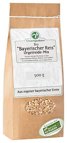 Chiemgaukorn Bio Urgetreide-Mix 500 g, Bayerischer Reis, Perl-Emmer, Perl-Dinkel, Perl-Einkorn