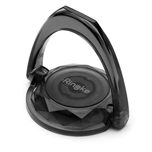 Ringke Prism Ring [Multi-Angle] Smartphone Ring Holder Standaard Compatibel met Accessoires voor Telefoonhoesjes - Smoke Black