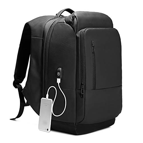 Large Capacity Business Travel Laptop Backpack 17 Inch Anti-theft Rucksack With Usb Charging Port For Trekking Hiking Work Travel Sport Daily Use