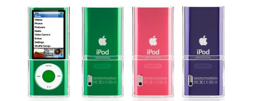 Griffin iClear for iPod nano 5G Transparente - fundas para mp3/mp4