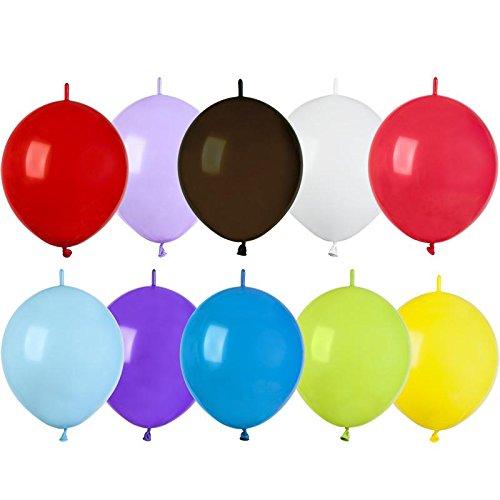 Gemar BA19305/MULTI - Globos redondos con enlace, multicolor, talla única