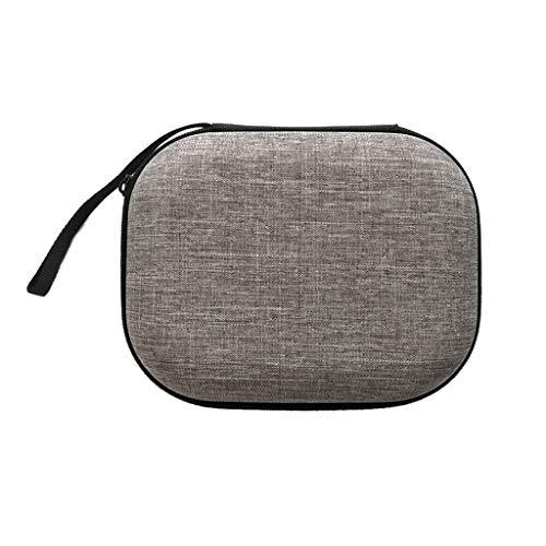 MYBOON Estuche rígido portátil para Transporte, Caja de Bolsa de Almacenamiento Plegable para Accesorios para Auriculares y50